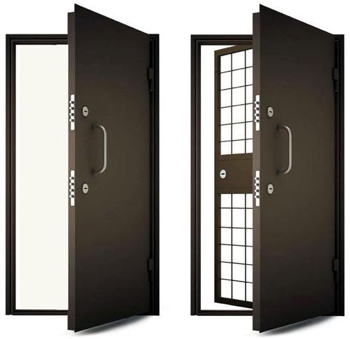 двери входные банковские металлические бронированные